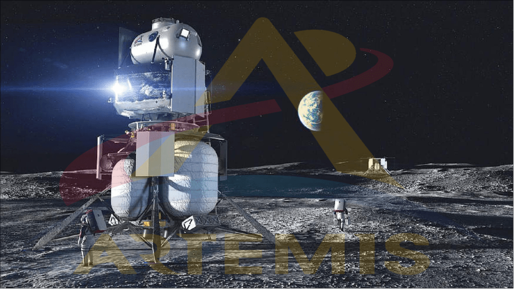 artemis program agency made for humans to land there in moon south pole.