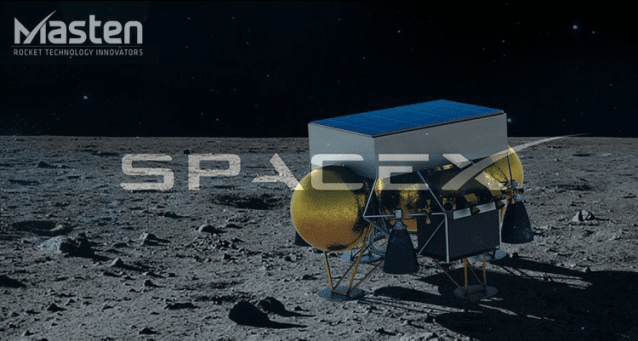 space x ready to launch masten lunar lander