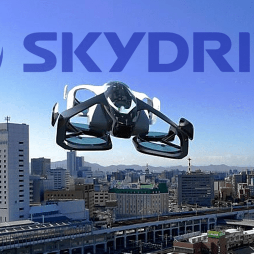 sky drive flying cars