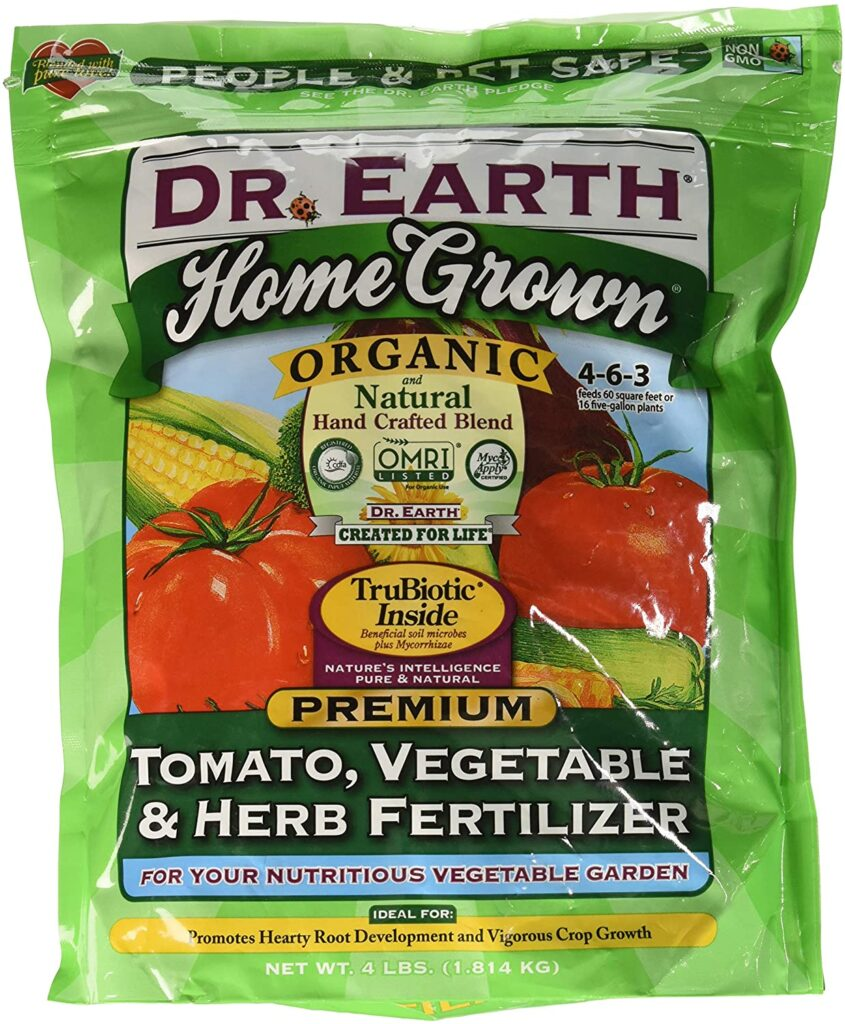 Dr. Earth Organic Tomato, Vegetable and Herb Fertilizer