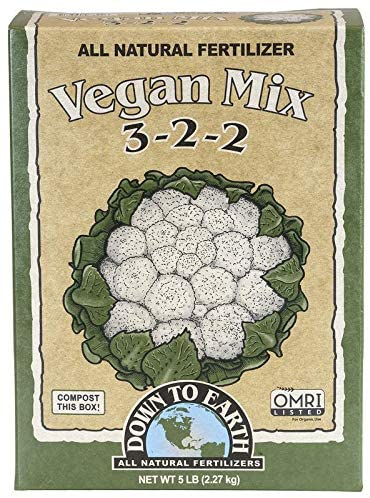 For Vegan landscapers: Down to Earth Organic Vegan Fertilizer can be utilized.